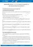 Hướng dẫn giải bài 1,2,3,4,5,6 trang 27,28 SGK Hóa 10