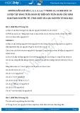 Hướng dẫn giải bài 1,2,3, 4,5,6,7 trang 53, 54 SGK Hóa 10