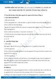 Hướng dẫn giải bài 1,2,3,4,5,6,7,8 trang 13,14 Hóa 10