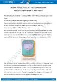 Hướng dẫn giải bài 1,2,3 trang 59 SGK Sinh học 9