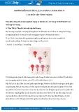 Hướng dẫn giải bài 1,2,3,4 trang 10 SGK Sinh học 9