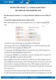 Hướng dẫn giải bài 1,2,3 trang 66 SGK Sinh học 9