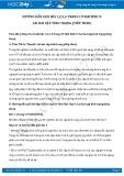 Hướng dẫn giải bài 1,2,3,4 trang 19 SGK Sinh học 9