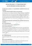 Hướng dẫn giải bài 1,2,3 trang 98 SGK Sinh học 9