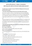 Hướng dẫn giải bài 1,2 trang 179 SGK Sinh học 9