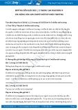 Hướng dẫn giải bài 1,2,3,4 trang 165 SGK Sinh học 9