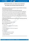 Hướng dẫn giải bài 1,2 trang 124 SGK Sinh học 9