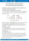 Hướng dẫn giải bài 1,2 trang 81 SGK Sinh học 9