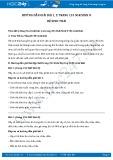 Hướng dẫn giải bài 1,2 trang 153 SGK Sinh học 9