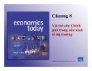 Bài giảng Chương 8: Vai trò của Chính phủ trong nền kinh tế thị trường
