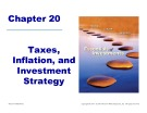 Essentials of Investments: Chapter 20 - Taxes, Inflation, and Investment Strategy