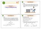 Bài giảng Chương 4 - Công và năng lượng