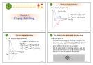 Bài giảng Chương 8: Trạng thái lỏng