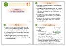 Bài giảng Chương 5: Cơ học chất lưu