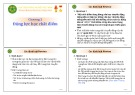 Bài giảng Chương 2: Động lực học chất điểm