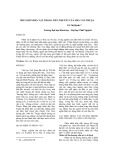 Thế giới nhân vật trong tiểu thuyết của nhà văn Thuận