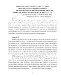 Lập luận qua đoạn văn miêu tả nhân vật Thị Nở trong truyện ngắn Chí Phèo của Nam Cao