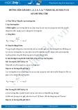 Hướng dẫn giải bài 1,2,3,4,5,6,7 trang 82,83 SGK Lý 10