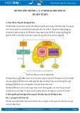 Hướng dẫn giải bài 1,2,3 trang 66 SGK Sinh học 10