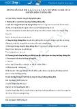 Hướng dẫn giải bài 1,2,3,4,5,6,7,8,9,10 trang 15 SGK Lý 10