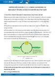 Hướng dẫn giải bài 1,2,3,4 trang 56 SGK Sinh học 10