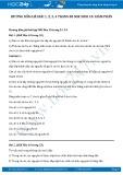 Hướng dẫn giải bài 1,2,3,4 trang 80 SGK Sinh 10