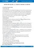 Hướng dẫn giải bài 1,2,3 trang 25 SGK Sinh 10
