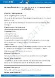 Hướng dẫn giải bài 1,2,3,4,5,6,7,8,9,10,11,12 trang 27 SGK Lý 10