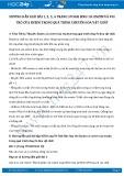Hướng dẫn giải bài 1,2,3,4 trang 59 SGK Sinh 10