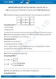 Hướng dẫn giải bài ôn tập chương 1 Đại số lớp 10 SGK trang 24, 25