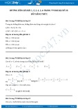 Hướng dẫn giải bài 1,2,3,4,5,6 trang 79 SGK Đại số 10