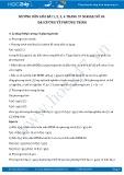 Hướng dẫn giải bài 1,2,3,4 trang 57 SGK Đại số 10