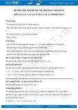 Hướng dẫn giải bài ôn tập chương 3 Đại số 10 trang 70,71