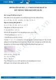 Hướng dẫn giải bài 1,2,3 trang 99 SGK Đại số 10
