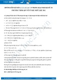 Hướng dẫn giải bài 1,2,3,4,5,6,7,8 trang 62,63 SGK Đại số 10