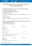 Hướng dẫn giải bài 23,24,25,26 trang 75 SGK Đại số 6 tập 1
