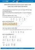 Hướng dẫn giải bài 20,21,22 trang 15 SGK Đại số 6 tập 2