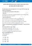 Hướng dẫn giải bài 28,29,30,31 trang 19 SGK Đại số 6 tập 2