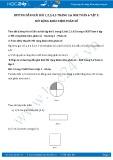 Hướng dẫn giải bài 1 trang 5 SGK Đại số 6 tập 2