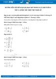 Hướng dẫn giải bài 63,64,65,66 trang 34 SGK Đại số 6 tập 2
