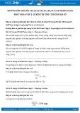 Hướng dẫn giải bài 142,143,144,145,146,147 trang 59 SGK Đại số 6 tập 2