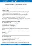Hướng dẫn giải bài 1,2,3,4,5 trang 165 SGK Hóa học 9