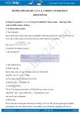 Hướng dẫn giải bài 1,2,3,4,5 trang 139 SGK Hóa học 9