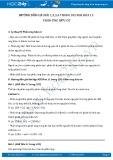 Hướng dẫn giải bài 1,2,3,4 trang 105 SGK Hóa 11