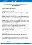 Hướng dẫn giải bài 1,2,3,4 trang 58 SGK Hóa học lớp 11
