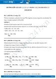 Hướng dẫn giải bài 1,2,3,4,5 trang 135,136 SGK Hóa 11