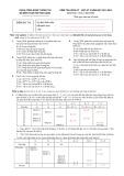 Đề kiểm tra giữa kỳ - học kỳ 2 năm học 2013-2014 môn Cơ sở dữ liệu 2 (Đề số DB141)