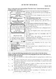 Đề thi thử tiếng Anh trình độ B2 (Đề số 06)