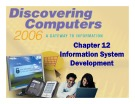 Discovering Computers - Chapter 12: Information System Development