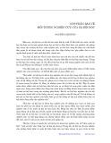 Góp phần bàn về đối tượng nghiên cứu của xã hội học